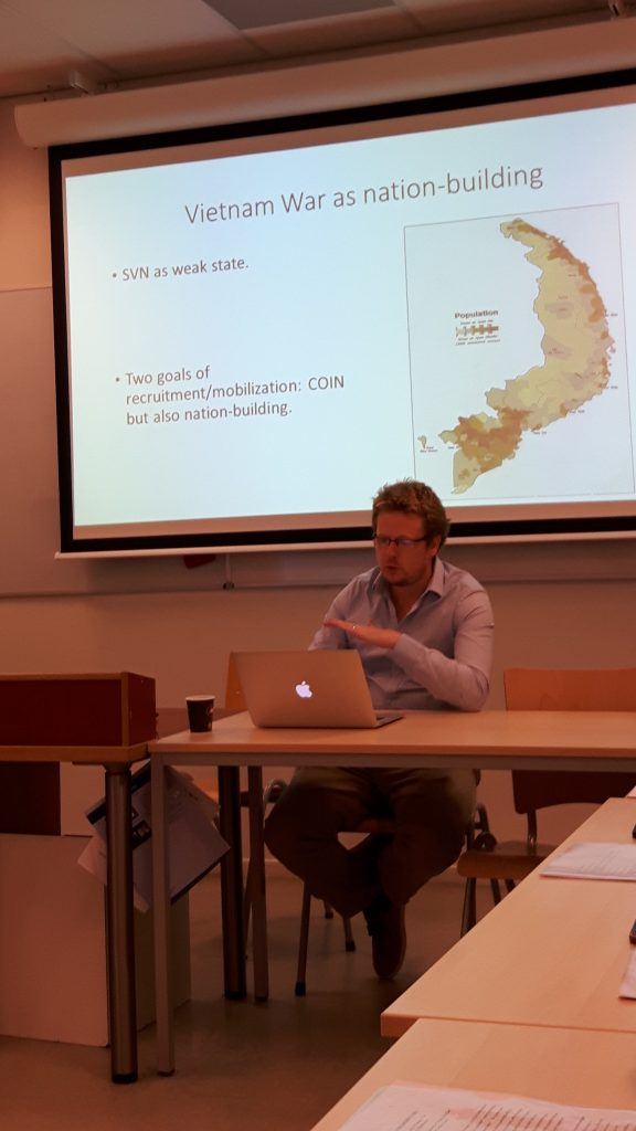 Andy Gawthorpe (Leiden University) on mobilizing manpower in the Vietnamese Communist movement