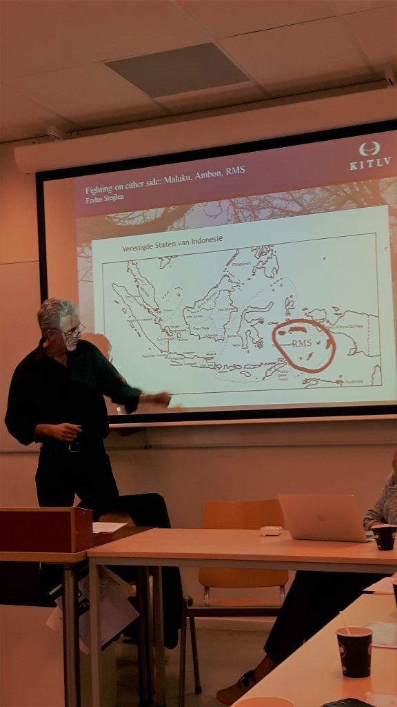 Fridus Steijlen (KITLV): 'Fighting on either side: Moluccans in the decolonization war of Indonesia'