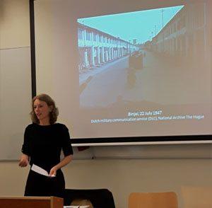 Anne van der Veer (Leiden University): 'Forgotten allies: Chinese fighters in revolutionary and counterrevolutionary East Sumatra, Indonesia, 1945–1950'